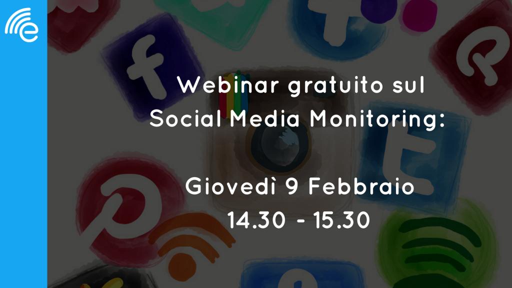 webinar social media monitoring