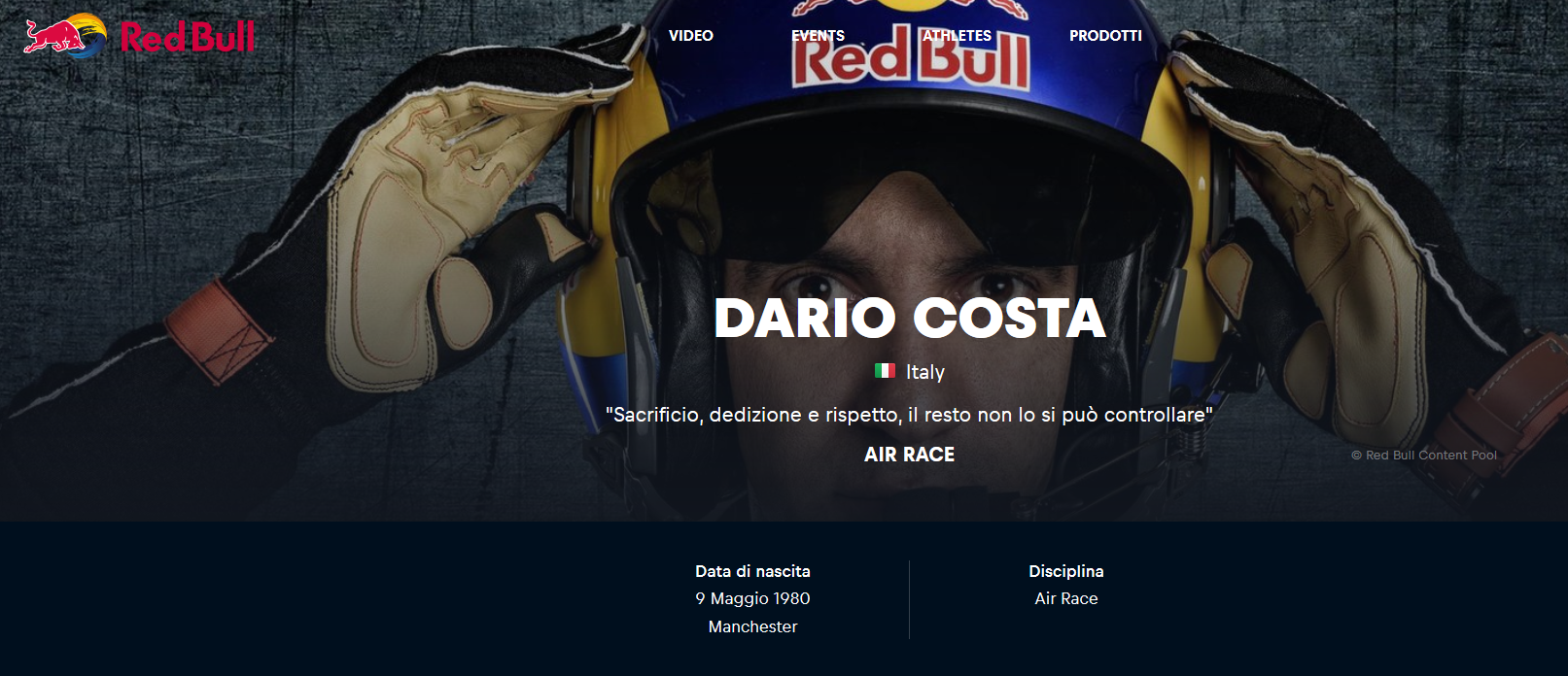 Sito, Red Bull, Content, content marketing