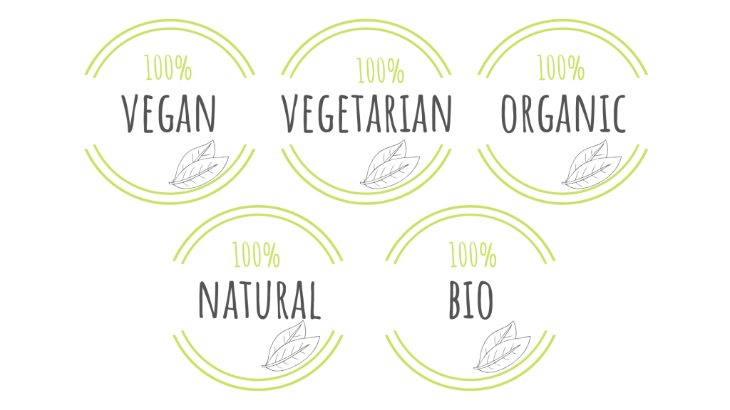vegan, vegetarian, organic, natural, biologico, green,