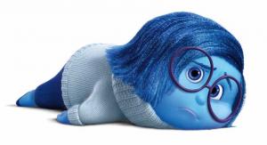 tristezza, blu, triste