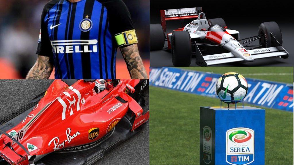 pirelli, formula 1, ferrari, tim, marlboro, ray-ban, inter, mclaren, Lega Serie A, ups