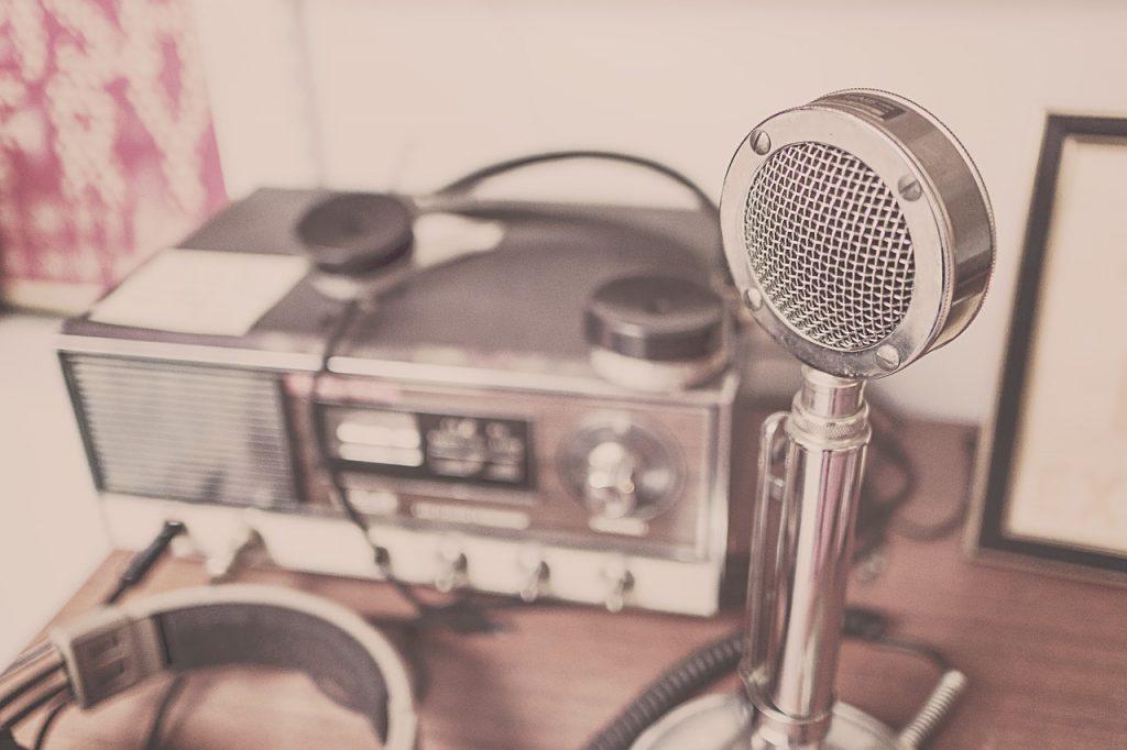 radio e microfono