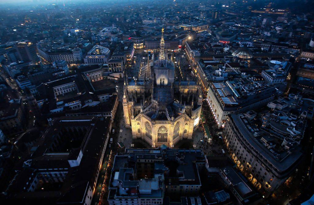 fotografia Andrea Cherchi Duomo Milano