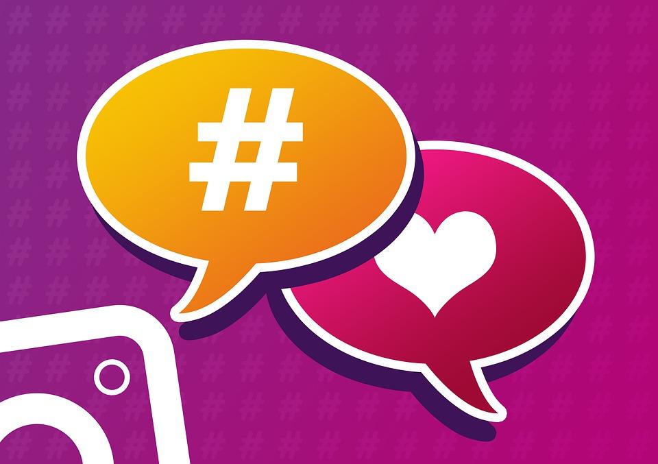 hashtag like