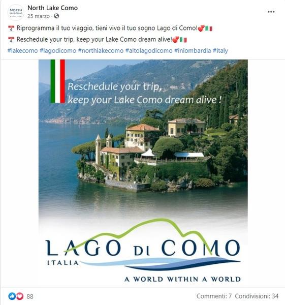 Lago di Como; Como; comunicazione turistica; Lake Como; viaggiare