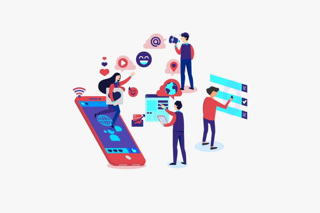 e-commerce e social media