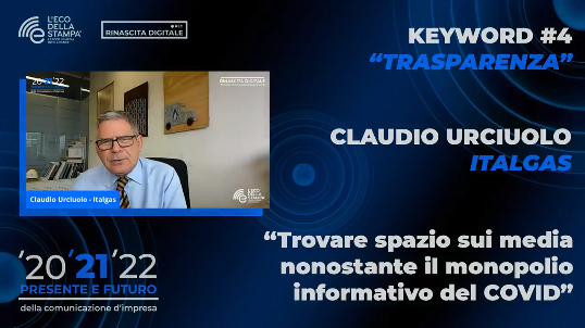 trasparenza; Italgas; comunicazione d'impresa